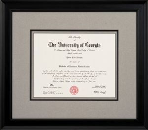 Framing Your College Diploma